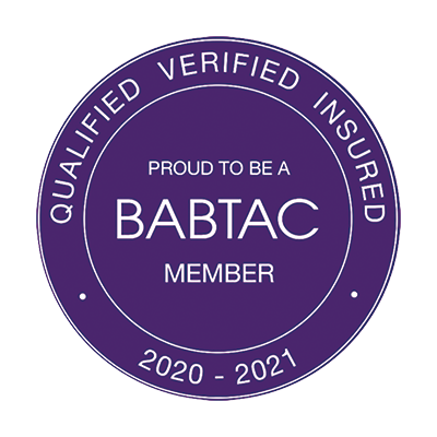 BABTEC qualified and registered